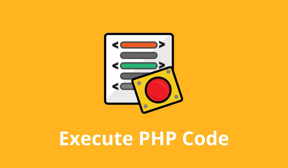 Execute PHP Code